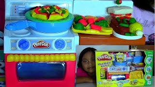 getlinkyoutube.com-Play-Doh Meal Makin Kitchen Playset Make Play-Doh Foods Creations