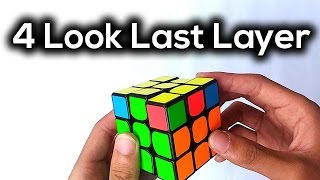 4 Look Last Layer OLL and PLL | Tagalog