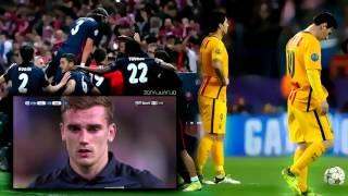 getlinkyoutube.com-Atlético De Madrid vs FC Barcelona [2-0][13/04/2016] EL BARÇA JUGA A RAC1