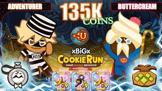 getlinkyoutube.com-CookieRun คุกกี้รันเก็บเงิน 135,037 Coins เซตคอมโบเก็บเหรียญได้มากที่สุด Best Farming Coins | xBiGx