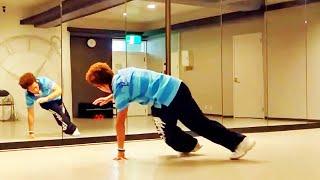 getlinkyoutube.com-ブレイキンの基礎〝6歩〟やり方 初心者でもできる簡単なブレイクダンス講座