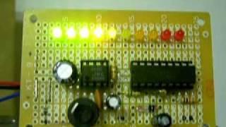 LM3914 LED VU meter