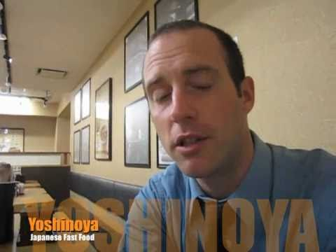 Fast Food in Japan: Yoshinoya