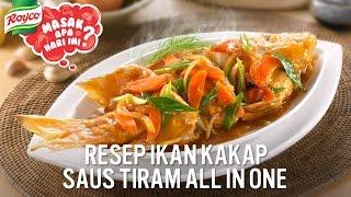Resep Ikan Kakap Saus Tiram All In One