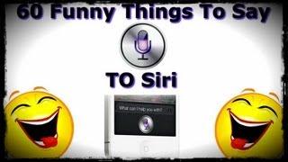 getlinkyoutube.com-60 Funny Things To Say To Siri - Siri Easter Eggs