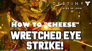 getlinkyoutube.com-Rise of Iron GLITCH!! Easy Exotic/Legendary Loot & SOLO NEW NIGHTFALL WRETCHED EYE STRIKE : Destiny