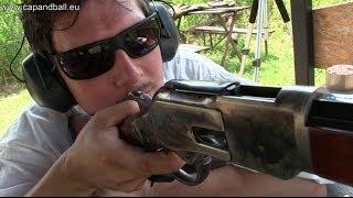 getlinkyoutube.com-Shooting the Uberti 1873 44-40 lever action Winchester to 300 meters