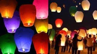 getlinkyoutube.com-Cara Membuat Lampion Yang Bisa Terbang