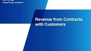 Revenue from Contracts with Customers