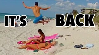getlinkyoutube.com-BEST OF BEACH HURDLE PRANKS!! (Prank Compilation 2015)