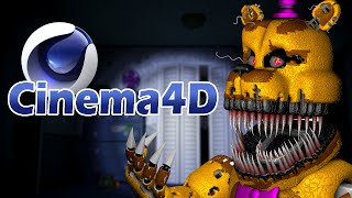 getlinkyoutube.com-NIGHTMARE FREDBEAR RIG DOWNLOAD! | CINEMA4D | Five Nights at Freddy's 4