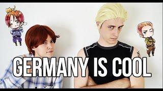 getlinkyoutube.com-Germany is cool - Hetalia Live Cosplay