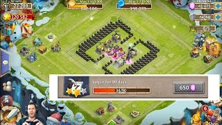 20k Might Brand New Account Rolling 45000 gems For Michael Castle Clash