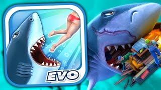 MEGALODON - Hungry Shark Evolution - Part 7 (iPhone Gameplay Video)