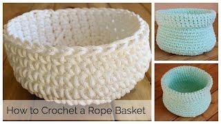 getlinkyoutube.com-How to Crochet a Basket