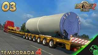 getlinkyoutube.com-Euro Truck 2 - T4E04 - Vuelven cargas a lo bestia | Gameplay Español