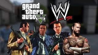 getlinkyoutube.com-GTA 5 Meets WWE!
