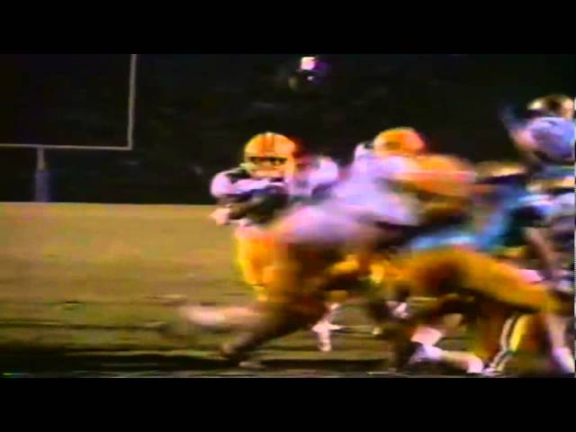 Oregon RB Derek Loville runs for a short touchdown vs. UCLA 11-11-1989
