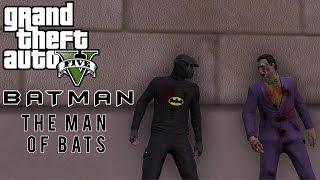 getlinkyoutube.com-GTA 5 Skit - Batman: The Man of Bats | Battle Against Joker & More! (GTA 5 Funny Moments)