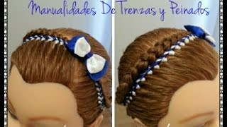 getlinkyoutube.com-Encintados Para niñas. Hair Ribbon for Girls.