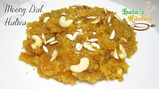 getlinkyoutube.com-Moong Dal Halwa Recipe Video — Indian Dessert Recipe in Hindi with English Subtitles