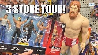 getlinkyoutube.com-WWE ACTION INSIDER: Walmart UNBOXING, NEW Kmart Exclusive Wrestling Figures, Walgreens gets ELITES!