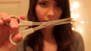 getlinkyoutube.com-ASMR Haircut ✄ **Binaural Wash, Dry, Cut, and Style**