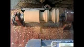 getlinkyoutube.com-Мини токарный станок по дереву. Часть 1. The mini lathe on a tree. Part 1.