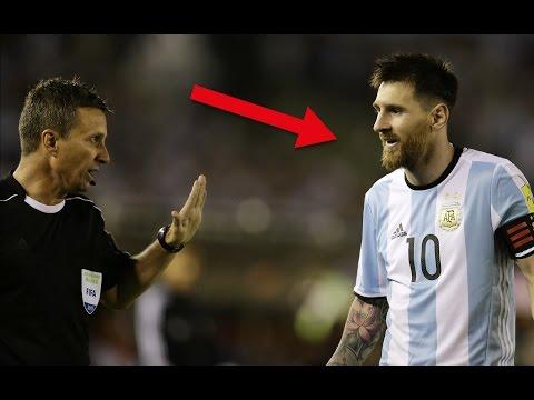 Lionel Messi beleidigt Schiedsrichter: F*** !