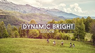 Dynamic Bright Slideshow | After Effects project