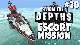 getlinkyoutube.com-From the Depths #20 - Escort Mission