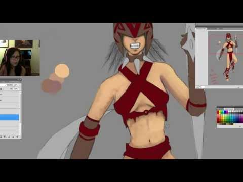 Sajedene Draws Rule 63 Bloodseeker