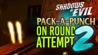 getlinkyoutube.com-BLACK OPS 3: SHADOWS OF EVIL ROUND 2 SOLO PACK A PUNCH ATTEMPT!