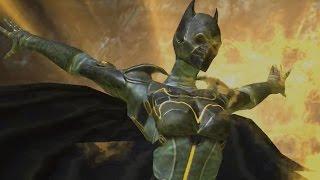 getlinkyoutube.com-Injustice: Gods Among Us - Cassandra Cain Batgirl Super Attack Moves [iPad/Android]