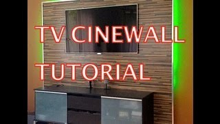 getlinkyoutube.com-LED TV Wand Tutorial (Cinewall)