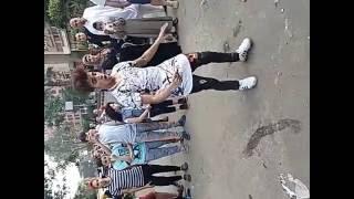 getlinkyoutube.com-صالح فوكس بعد صلاة العيد في جامعة الدول مهرجان احنا بتوع ربنا 2016