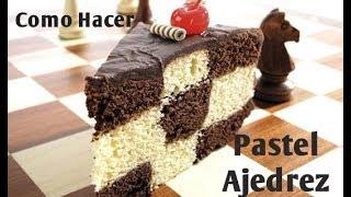 getlinkyoutube.com-Cómo Hacer Pastel De Ajedrez Sin Gastar En Moldes - Madelin's Cakes