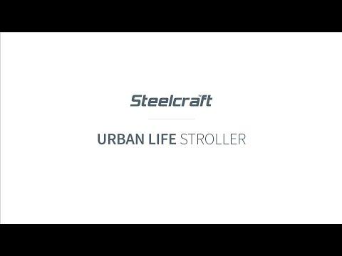 Steelcraft Urban Life Lightweight Stroller - Grey