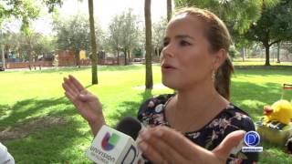 Paula Digrigoli habla de la campaña por el cuidado de los niños en las piscinas