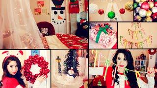 getlinkyoutube.com-DIY Cute Christmas Room Decor and Organization | Easy Dollar Store DIYS!
