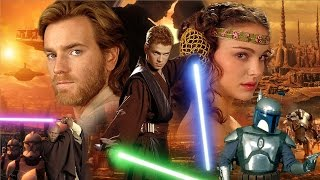 STAR WARS PREQUELS anti-cheese review
