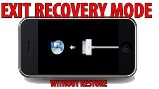 getlinkyoutube.com-How to EXIT RECOVERY MODE without RESTORE - iPhone, iPad , iPod Touch