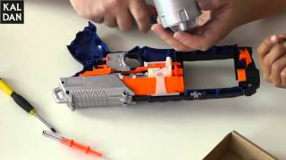getlinkyoutube.com-Nerf Elite Strongarm Modding und Tuning Teil 2