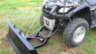 getlinkyoutube.com-Best ATV plow ever.