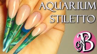 HOW TO STILETTO - Mix Acryl and Gel / Ongle mélange gel et resine
