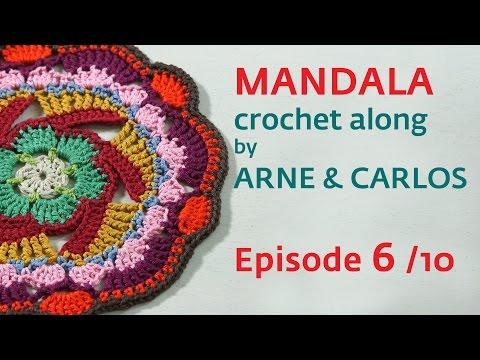 How to Crochet a Mandala. Part 6 by ARNE & CARLOS