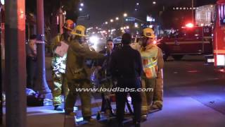 Head on Collision / Florence Ave  RAW FOOTAGE