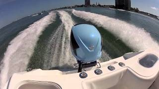 getlinkyoutube.com-Seven Marine 557 Sea Trial at Miami Boat Show 2012