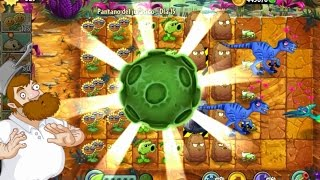 getlinkyoutube.com-Plants Vs Zombies 2 Pantano del Jurásico Dia 15 Español
