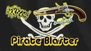 Nerf Style Buzz Bee Pirate Flintlock Pistol Review